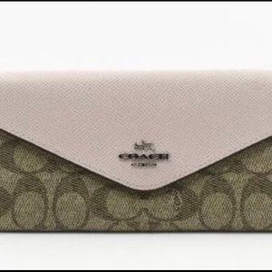 Reconditioned genuine Coach wallet